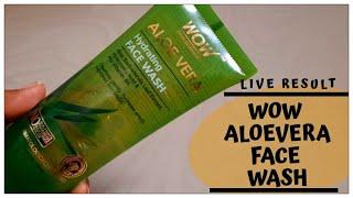AloeVera Gel + Face Wash | Wow Aloe Vera Hydrating Face Wash | Review & Demo | Shruti Mishra