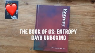 day6 데이식스 the book of us: entropy || sweet ver