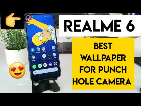 Realme 6 Wallpaper For Punch Hole Camera Youtube