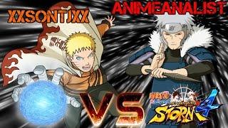 SonTj VS AnimeAnalyst! Who Will Win? - Naruto Shippuden Ultimate Ninja Storm 4
