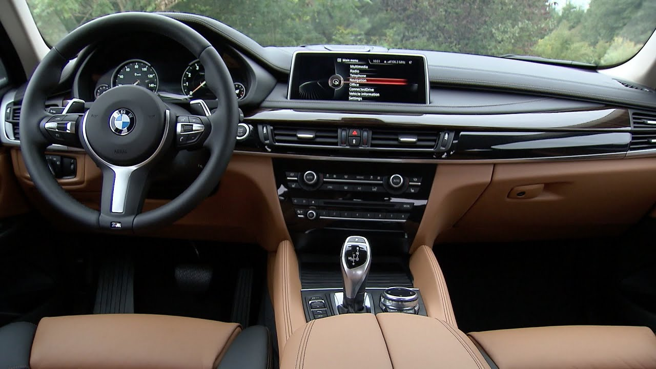 2015 BMW X6 50i INTERIOR - YouTube