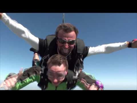 Christopher Reed's Tandem skydive!