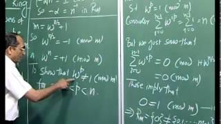 Mod-01 Lec-25 Discrete Fourier Transform III