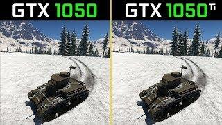 War Thunder GTX 1050 vs. GTX 1050 Ti (Performance Comparison)