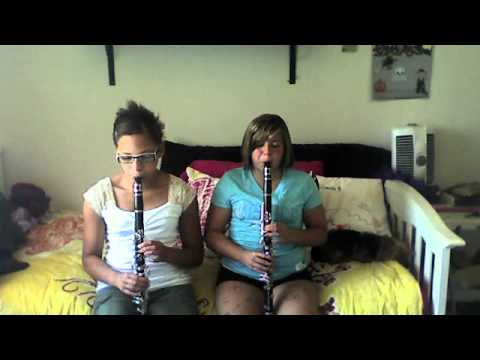 """Me And My Cousin Playin """"Lets Go Band"""""""