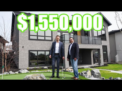 Winnipeg Home Tour | $1.55 MILLION LUXURY HOME