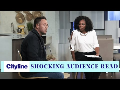 Psychic medium John Edward performs a shocking audience read