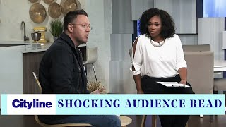 Psychic medium John Edward performs a shocking audience reading