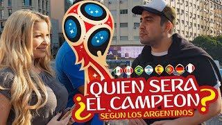 QUIEN SERA EL CAMPEÓN DEL MUNDIAL DE RUSIA 2018 SEGÚN LOS ARGENTINOS?