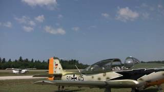70th Battle of Britain Anniversary Air Show featuring Bf 109 E-4 & Hawker Hurricane XII 2010