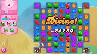 How to complete Candy Crush Saga Level #1804 Without Booster Super Hard Level