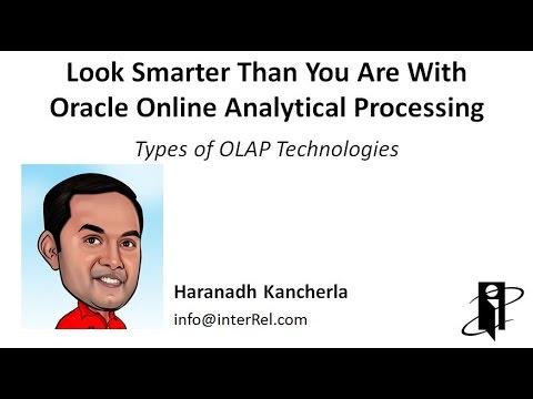 Types Of OLAP Technologies