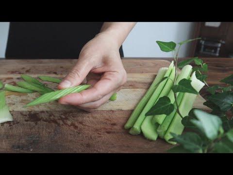 셀러리 어떻게 드세요? | Healthy And Yummy Celery Side Dish