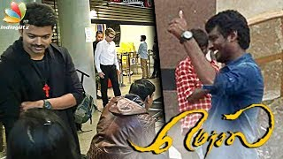 Mersal Shooting Spot : Director Atlee , Vijay movie in final stage | Latest Tamil Cinema News