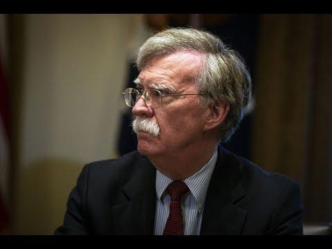 John Bolton's New Nightmarish Security Council Pick