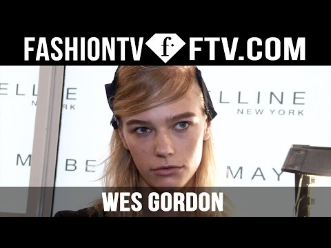 Makeup at Wes Gordon Spring 2016 New York Fashion Week | FTV.com