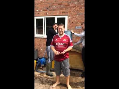 Jonny Hall ALS Ice Bucket challenge