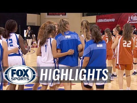 Europe Girls vs Asia-Pacific Girls | JR NBA CHAMPIONSHIPS