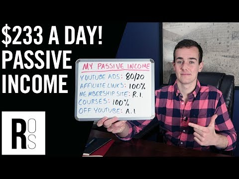 HOW I MAKE $7,000 A MONTH IN PASSIVE INCOME 🤑 My 5 Online Income Streams Explained!