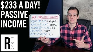 HOW I MAKE $7,000 A MONTH IN PASSIVE INCOME 🤑 (My 5 Online Income Streams Explained!)