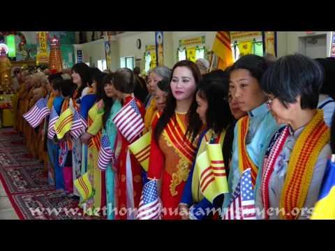 """TTT THÔNG LAI / Conroe, TX """"Lễ Khánh Thành Tôn Tượng Phật A Di Đà Lộ Thiên"""" Apr 8, 2017"""