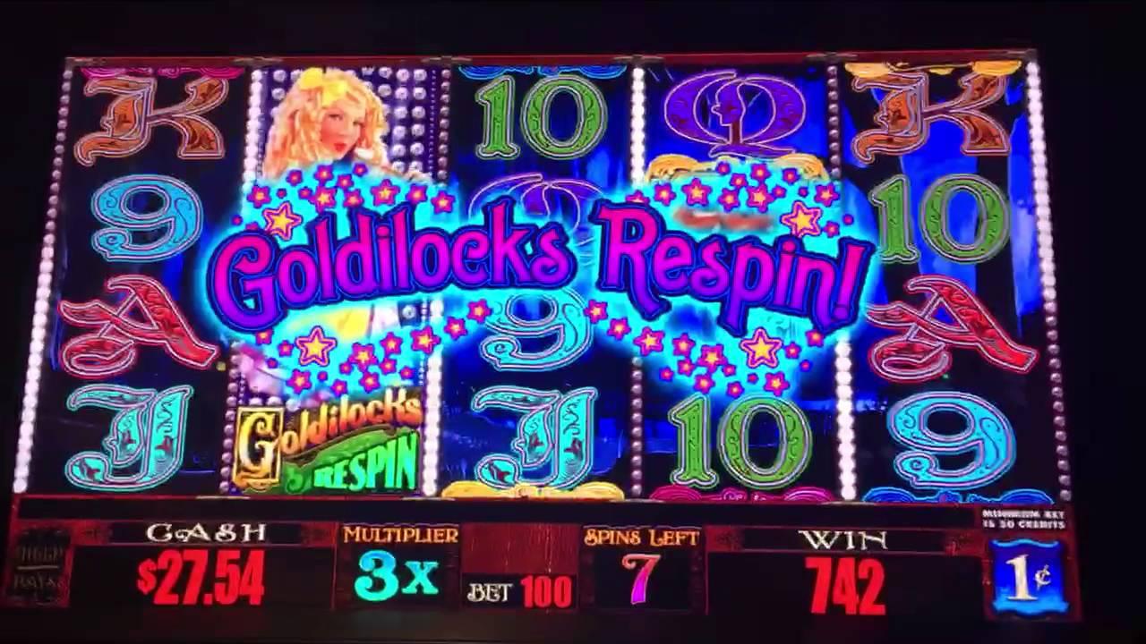 Goldilocks And The Wild Bears Slot Machine