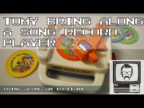 Bring Along a Song Record Player - Tomy Music Toy; Inspections | Nostalgia Nerd