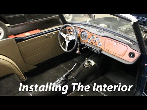 1973 Triumph TR6 Restoration - Part 33 - Carpet And Leather