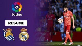 Résumé : Le Real Madrid corrigé à la Real Sociedad !
