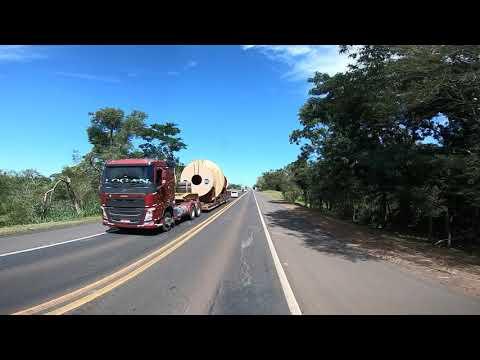Fronteira Minas Gerais Brasil. Diario de bordo de um caminhoneiro