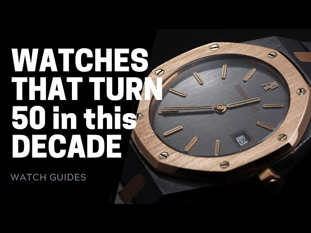 Watches That Turn 50 in this Decade (2020s) | SwissWatchExpo [Watch History]