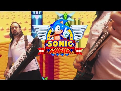 Sonic Mania METAL Cover, Mirage Saloon