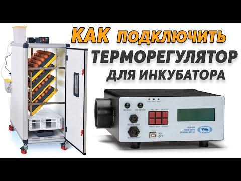 Как подключить сложный терморегулятор к инкубатору, и не только. Влажность, нагрев, переворот яиц.