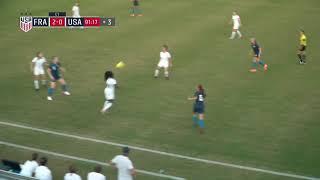 Nike International Friendlies U20 WNT vs France