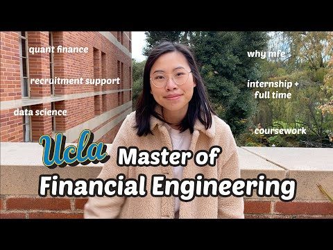 Recap My Master of Financial Engineering Experience in UCLA | where I'm going next? | MFE