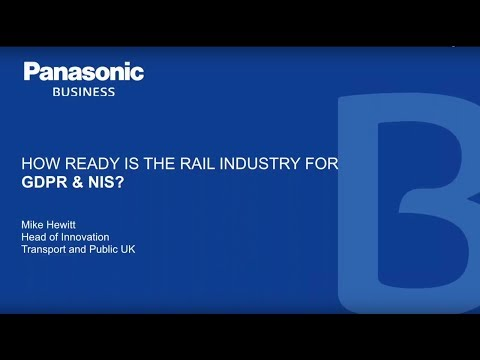 How ready is the rail industry for GDPR & NIS?