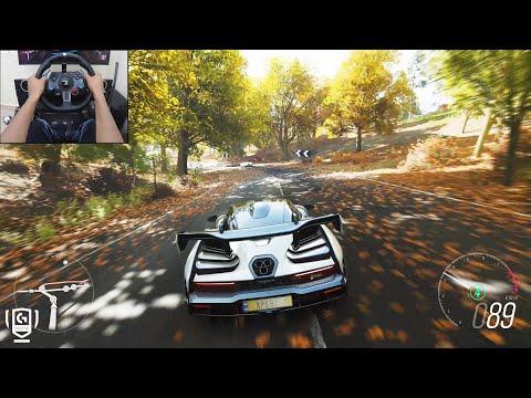 McLaren Senna – Forza Horizon 4 | Logitech g29 gameplay