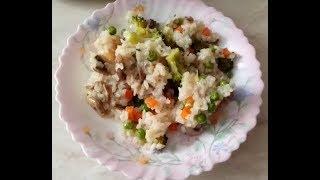Рис с овощами и грибами - диетическое блюдо или деликатес?