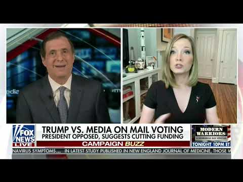 Fox News Refutes Trump On Mail-in Voting Fraud Claim