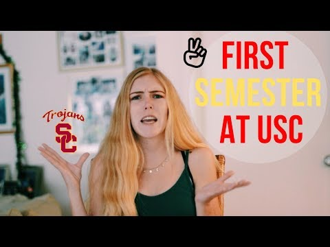 FIRST SEMESTER AT USC // Reflection & Tips for College Freshman