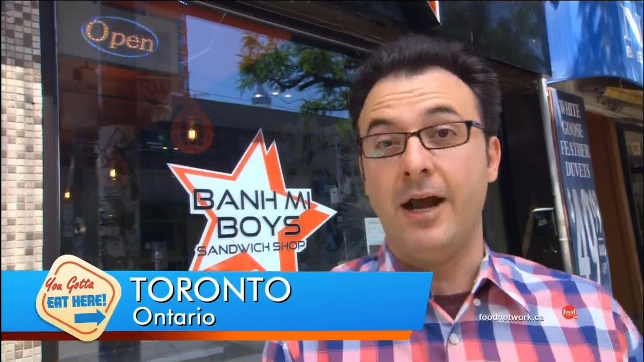 You Gotta Eat Here - Banh Mi Boys. Toronto Ontario Canada