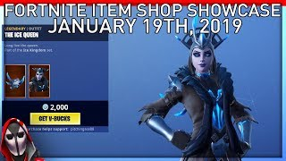 *NEW* Ice Queen Item Set! January 19th New Skins || Daily Fortnite Item Shop