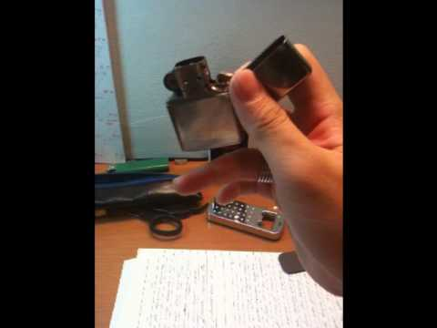 cool way to light your cigarette with a zippo youtube