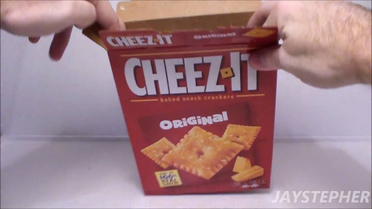 Snack Food Review - Original Cheez-It - YouTube