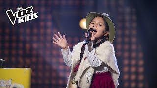 La Carranguerita canta Julia | La Voz Kids Colombia 2018