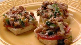 Biscuit Pizza Sliders