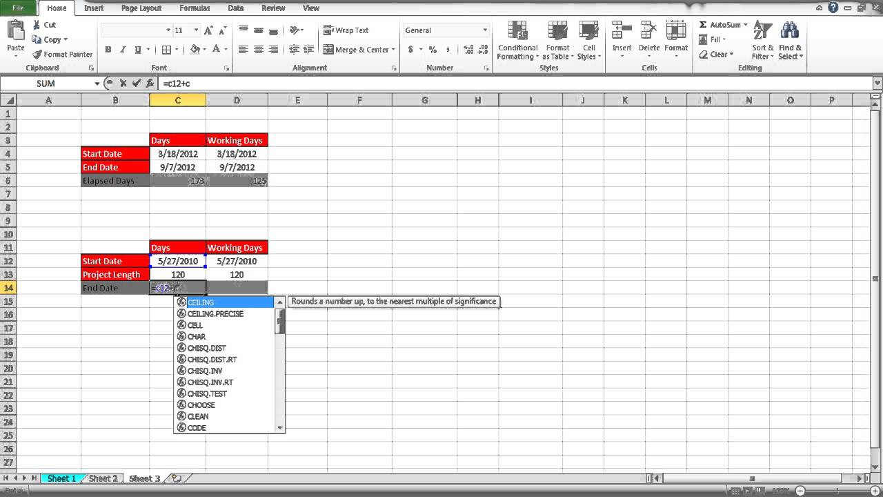 worksheet Days Elapsed how to calculate days in excel youtube excel