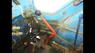 Обзор ручника на тракторе т-40, и рулевого управления.