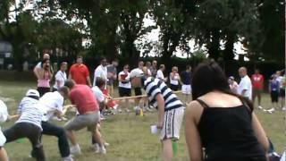 Chiswick School sports day - teachers tug of war part 2