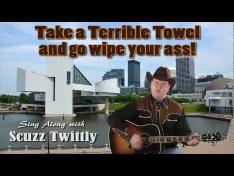 Scuzz Twittly - F**k the Pittsburgh Steelers!